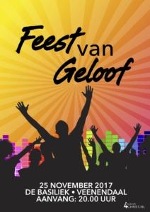 Feest van Geloof - met Lucas Kramer, Janine Beens, Elise Mannah, Reni en Elisa, LEV, Reyer, Wim Bevelander @ De Basiliek, Veenendaal | Veenendaal | Utrecht | Nederland
